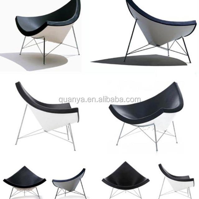 Fiberglass Coconut Lounge Chair For Office Staff Exercise Relaxing