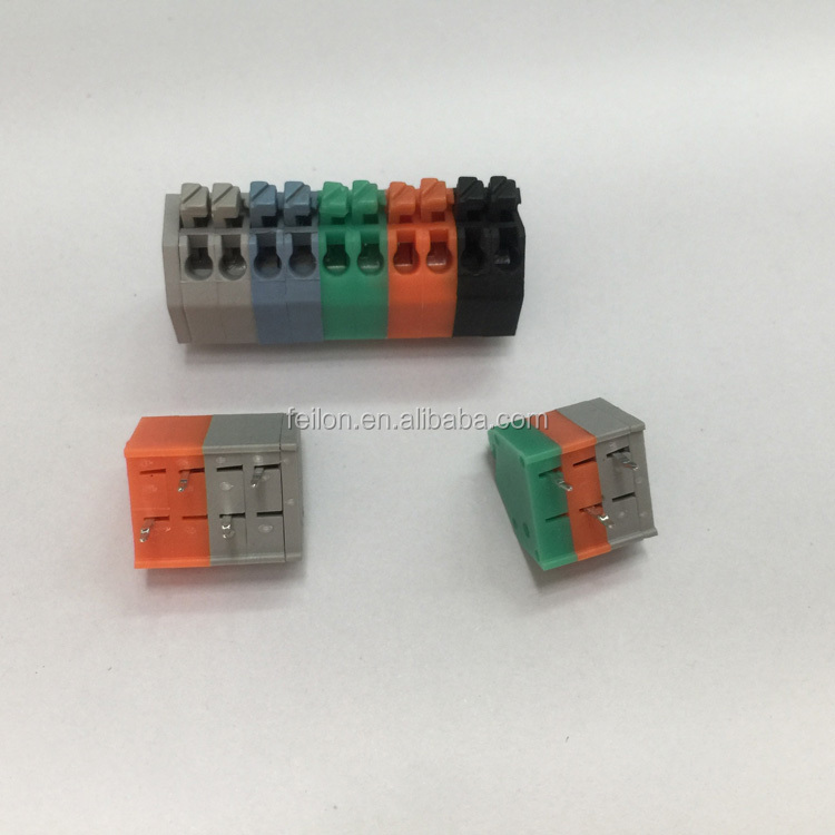 2-Way or 3-Way Screwless Spring Wire Connector Terminal Block