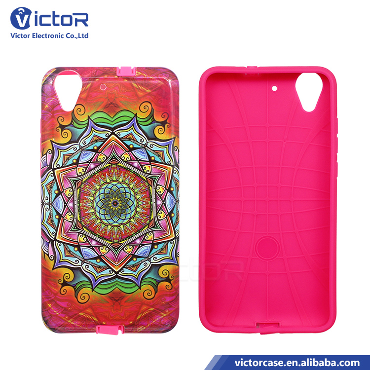 guangzhou factory mobile phone PC TPU gummy Printing OEM designs cases for huawey HW GW Y6 II
