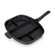 die-cast aluminium frying pan devided 5in1 non-stick all in one divided fry pan
