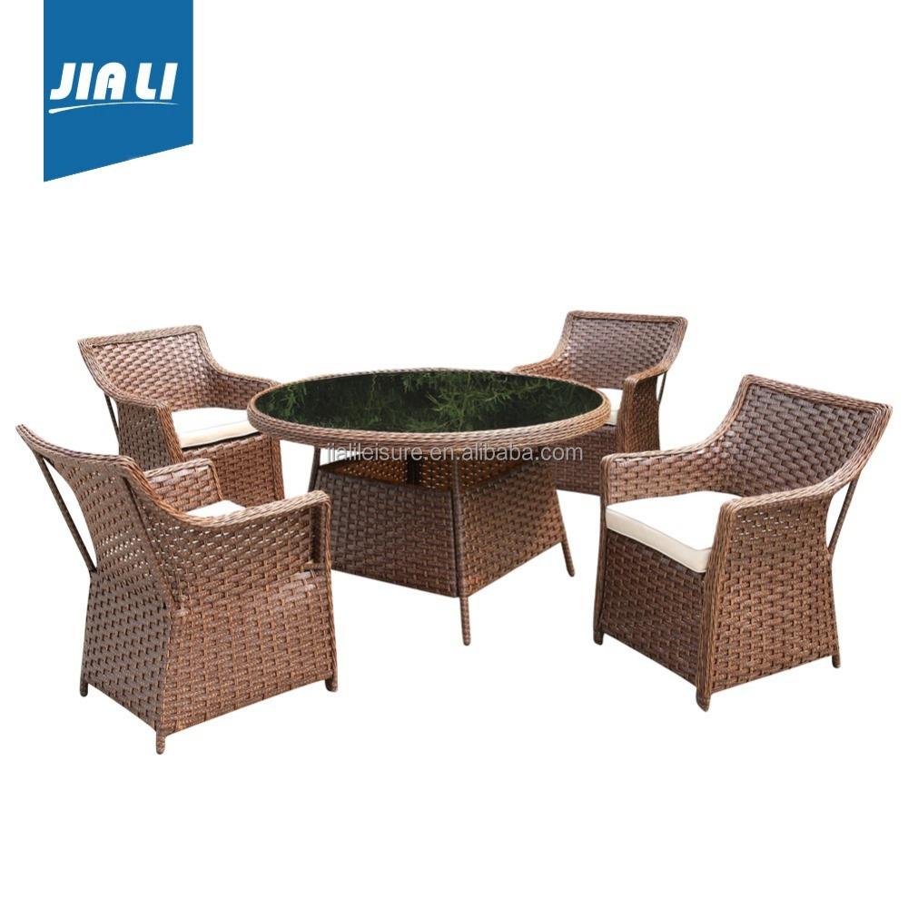 Muebles de comedor de rat n jard n set conjuntos de jard n for Conjuntos de jardin muy baratos
