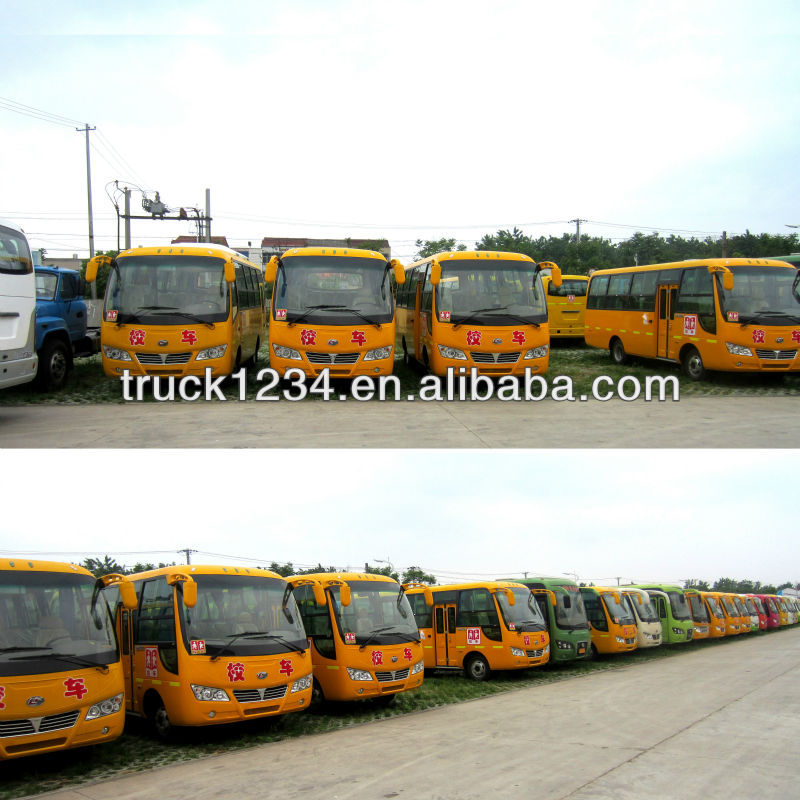 School Bus Manufacturer /Plant/Factory Supply with Best quality