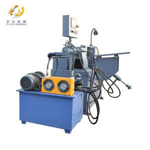 Coupler Automatic Line Pipe Chamfering Peeling Machine Coupler Production Equipment