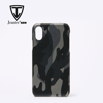 Wholesale Custom Genuine Cow Leather Cell Phone Case Luxury Real Leather Phone Case