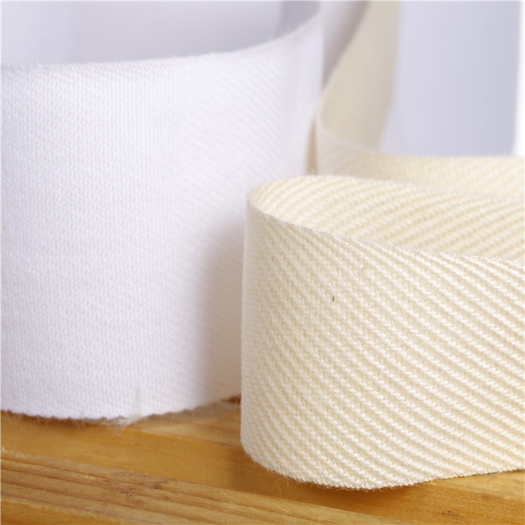 Hot Sell High Quality Cotton Twill Tape,Cotton Herringbone Webbing Tape In China, Natural/any color in pantone color card
