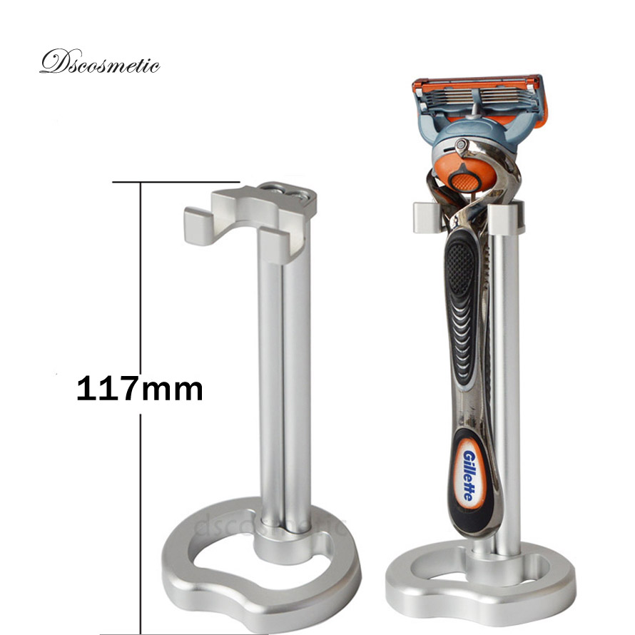 Dishi New metal shaving razor stand for man electric shave razor and Manual barber safety razor shaving tools