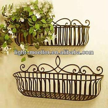 Wrought Iron Window Box Metal Flower Planter Product On Alibaba