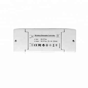 2-channel pwm or 0-10V zigbee remote control programmable led light dimmer