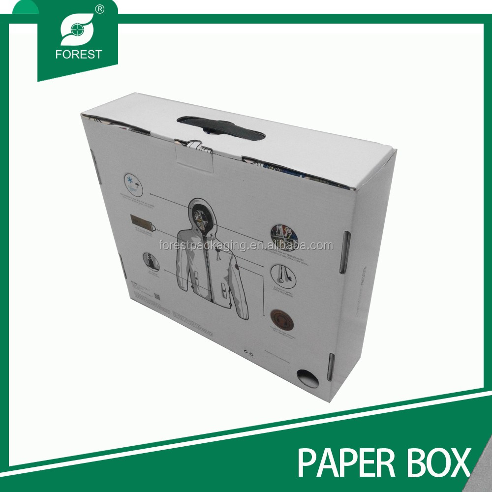 Beautiful high end ribbon folding packaging cardboard gift boxes for sweater and clothes