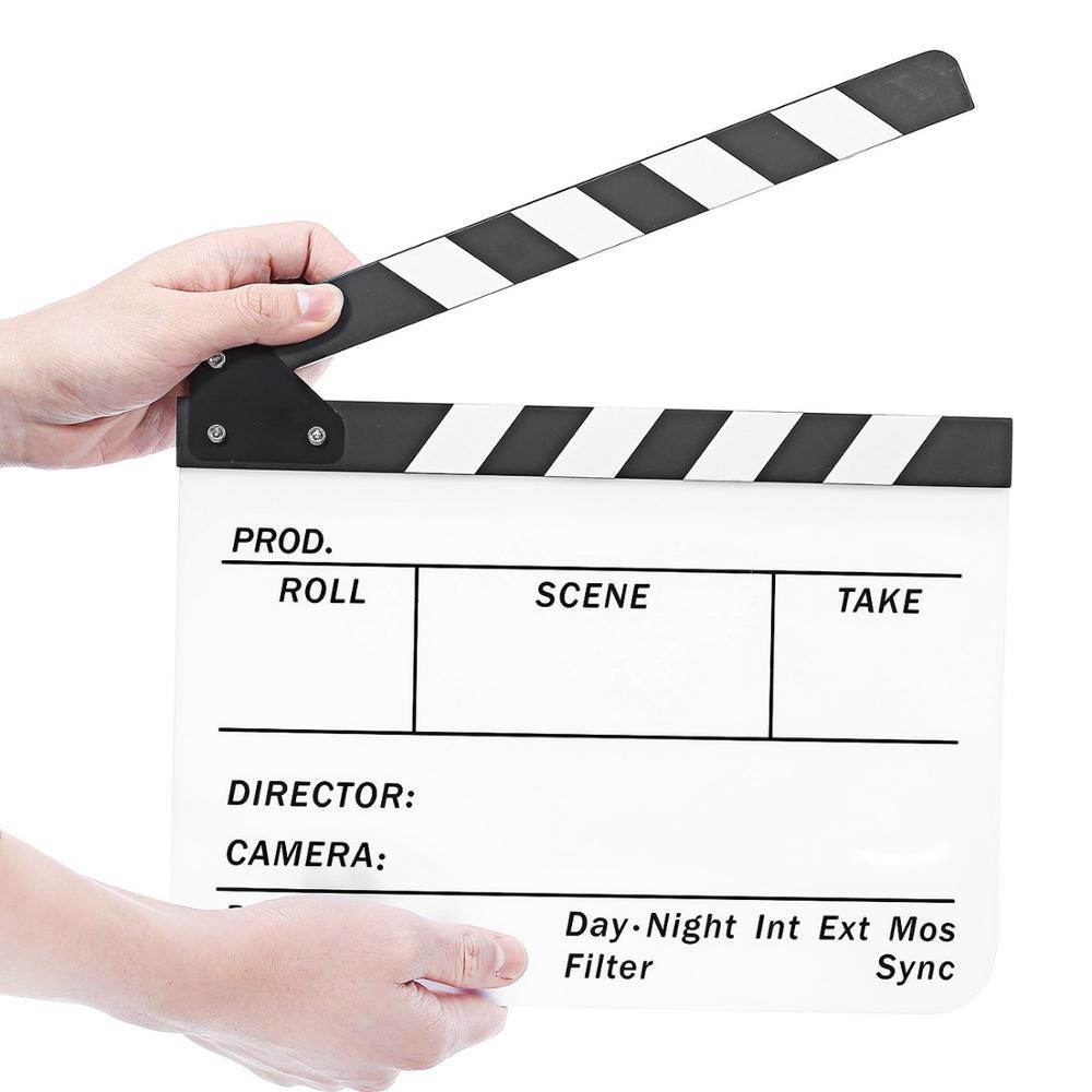 Película de acción de corte tablilla Director escena Badajo Board Pizarra