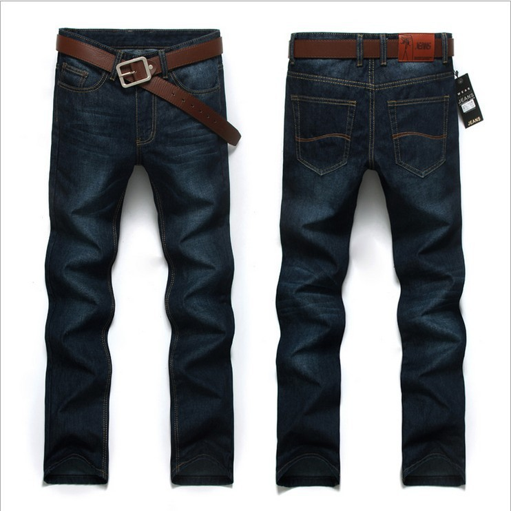 9c31085ff5f42 plus big size 28-40 42 44 46 high quality new 2014 spring fashion designer  brand men jeans denim casual trousers pants for man