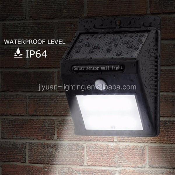 2017 New Product High Lumen Integrated All In One Solar Powered 48 Led Street Light Lamp Waterproof Solar Garden Lights
