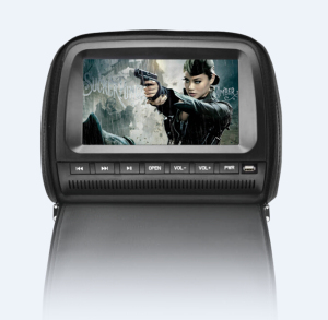 HD1080P TFT Touch Screen 9 inch Multi-function Headrest DVD Player for cars