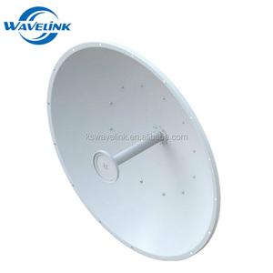 Outdoor WIFI Parabolic Satellite Antenna Wimax 5G 30dBi Mimo Dish Antenna