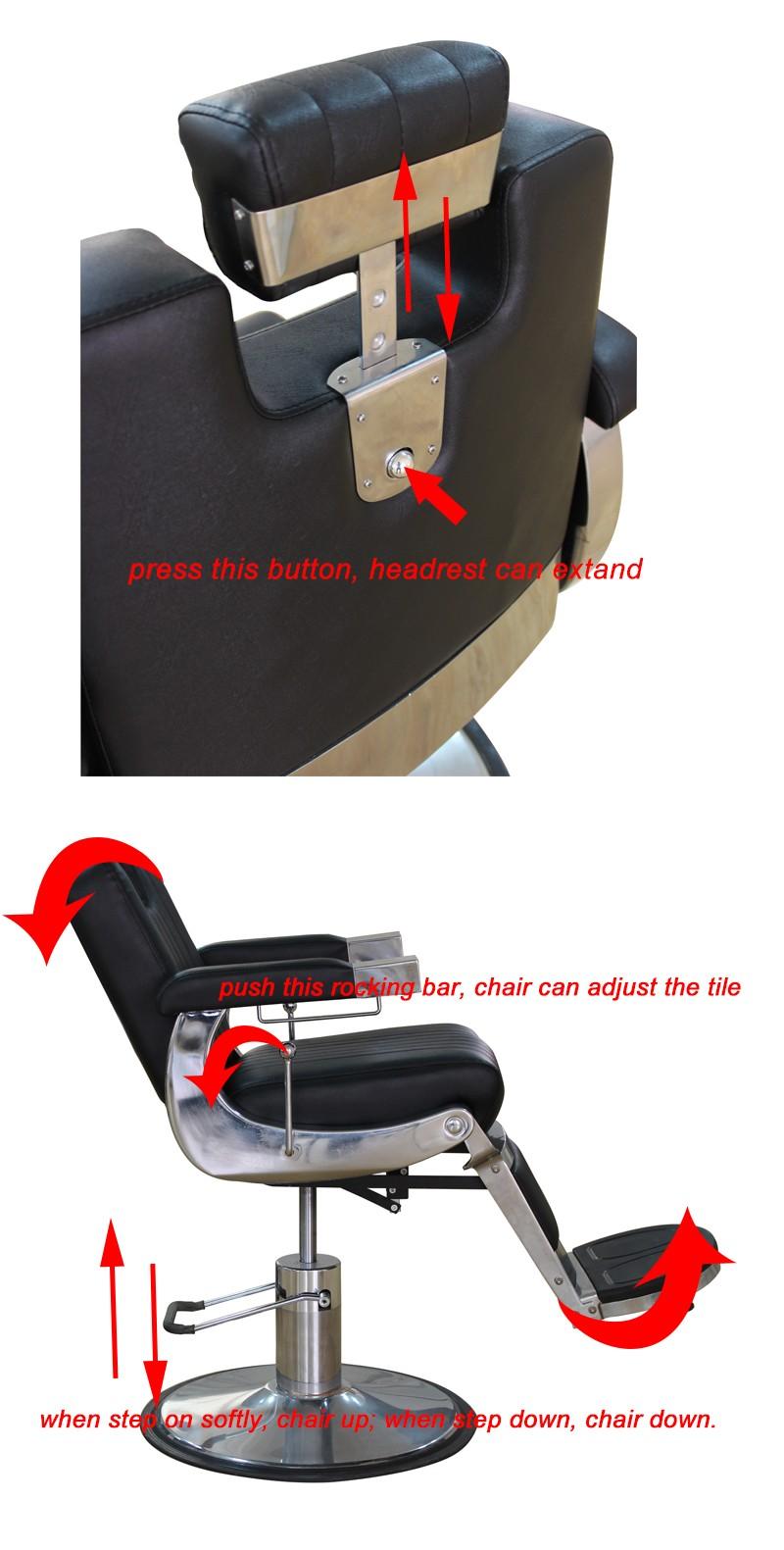 Modern barber chair - Modern Takara Belmont Hydraulic Barbers Chairs