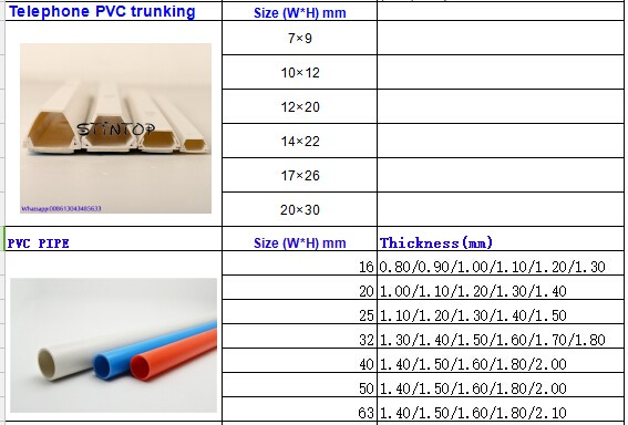 PVC rubber cable flexible trunking