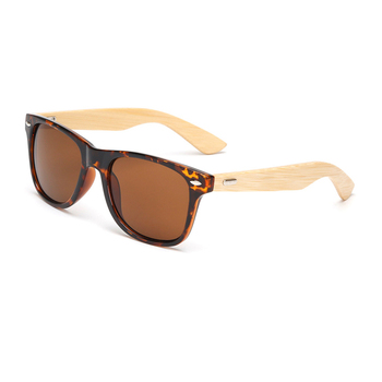 ddc5819acde2f Alibaba bulk buy from china cheap plastic frame bamboo arm sunglasses no  brand