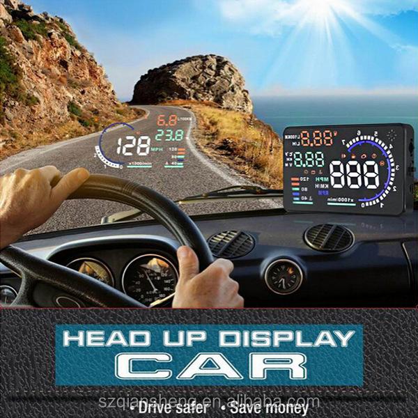 car projector HUD head up display speed display car hud display