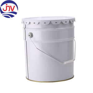 6 Gal Metal Gallon Bucket Tin Pail Steel Drum Set For Sale