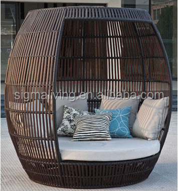 Patio Furniture Outdoor Beds Rattan