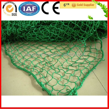 Highest quality green knitted fishing nets nylon prices for Fish nets for sale
