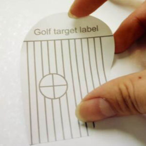 Golf Target Golf Impact Labels Target Sticker Tape (250)