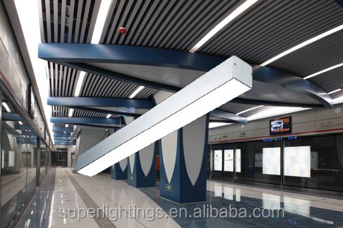 Suspended Recessed Fluorescent Suspended Ceiling Light