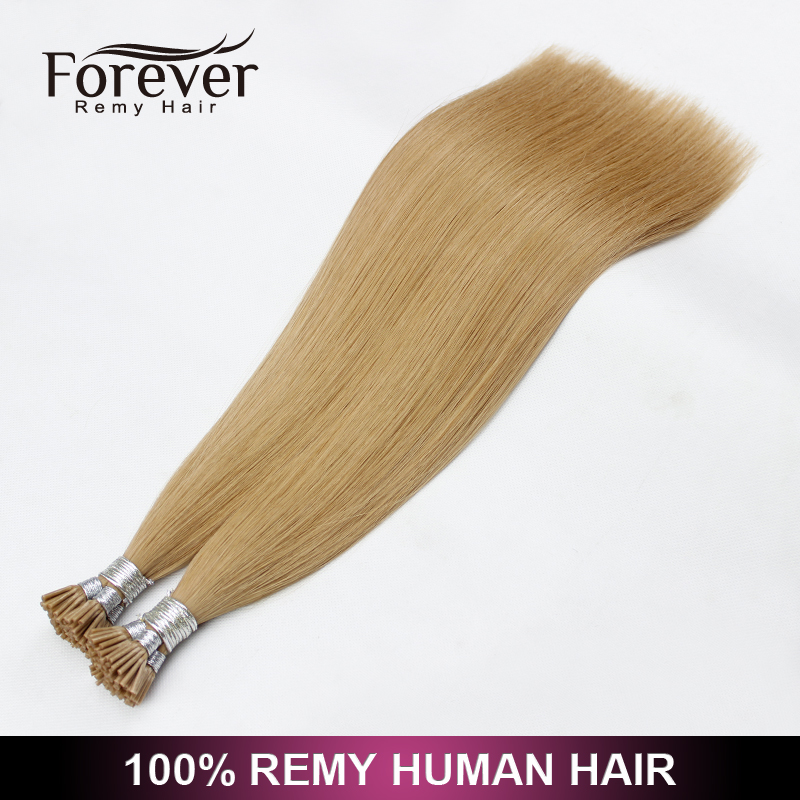 Xuchang Forever Hair products wholesale double drawn malaysian fusion ombre keratin hair extensions