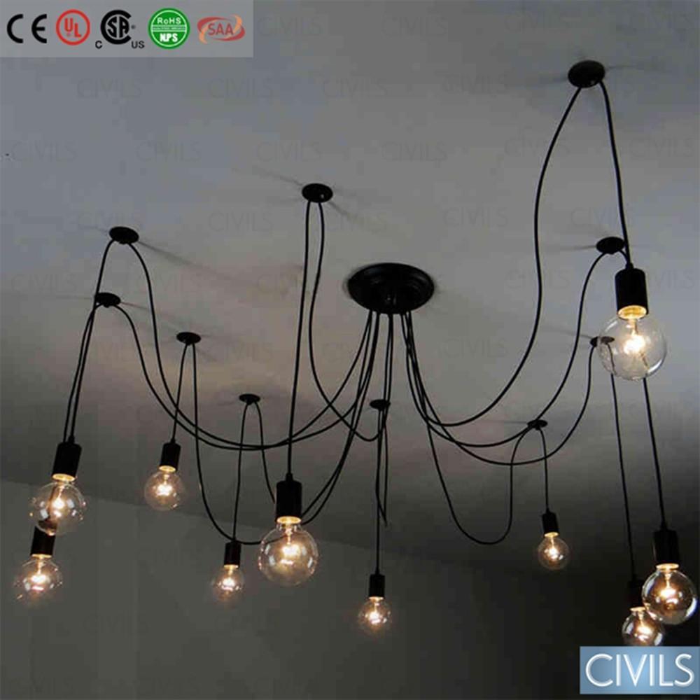 Edison Filament Bulb Vintage Chandelier Pendant Lamp On Alibaba Com