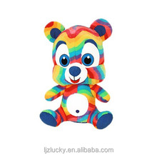 Plush toy manufacturers custom wholesale colourful Teddy bears