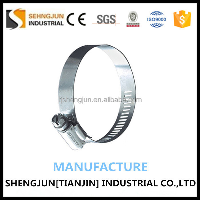 Wholesale Tianjin Manufacture Steel Beams Decorative Tent Hose Clamp