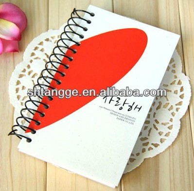 Diary notebook+cover+plastic