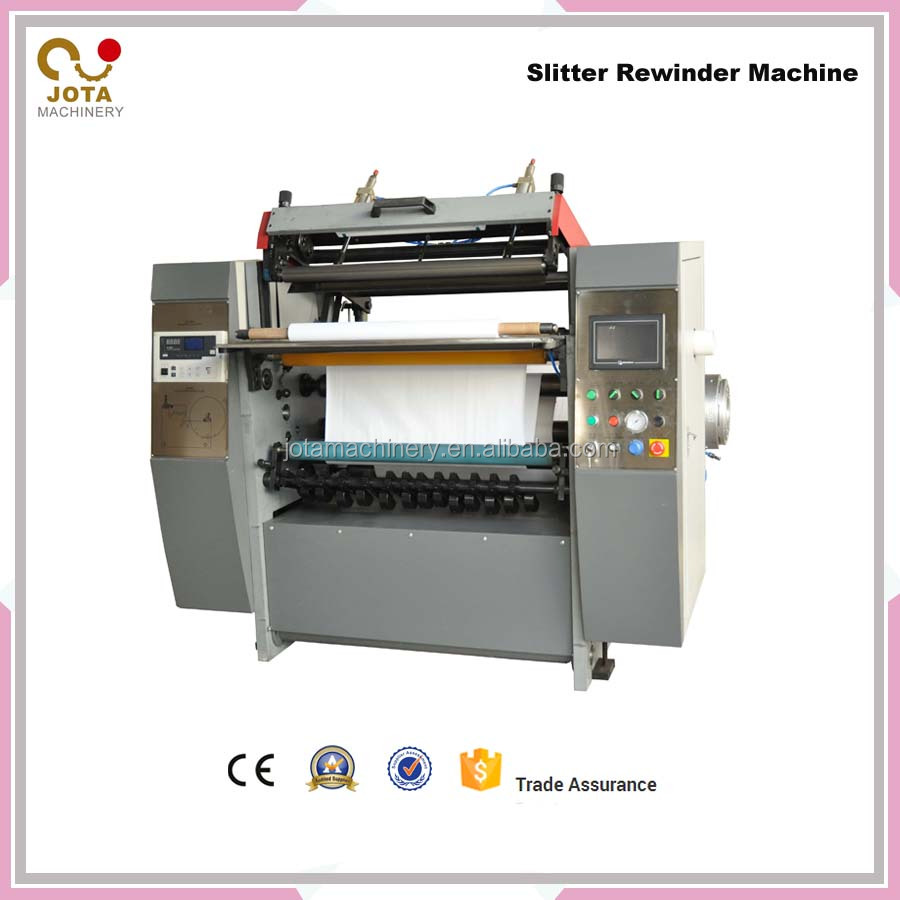 Electric Driven Type CE Certification Lottery And At a Reasonable Cost PVC/OPP/PET/CPP/Fiber Glass Slitting Rewinder Machine