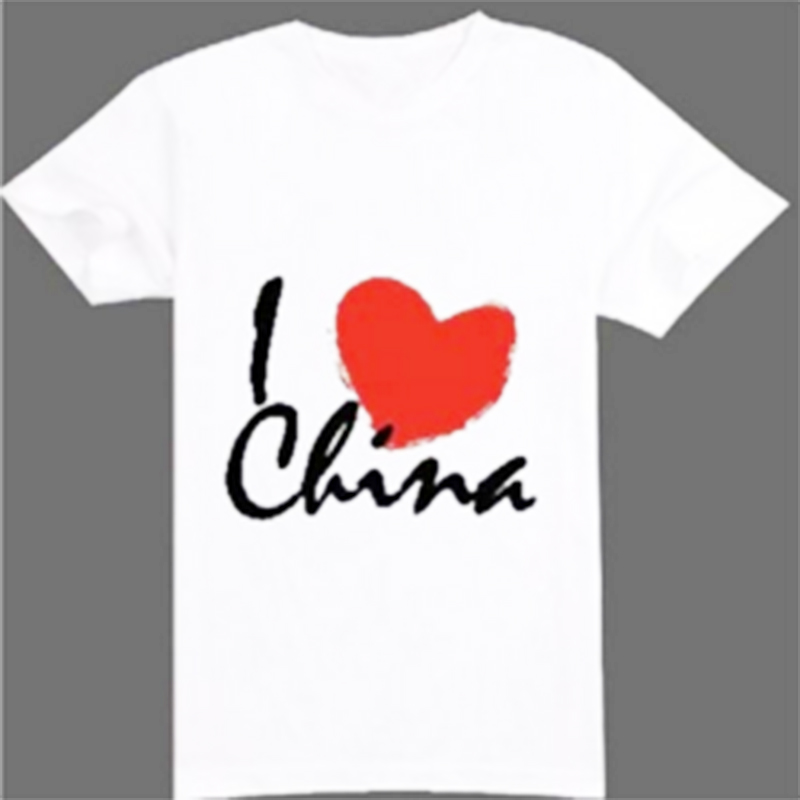 dcd67ec3 Promotional cheap wholesale custom t shirt 65 polyester 35 cotton t-shirt  with your logo printing