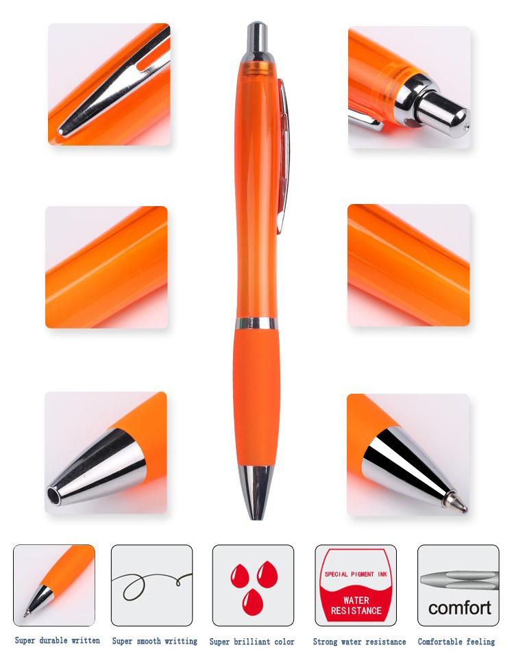 2019 Baru Fashion Hot Dijual dengan Harga Murah Pulpen Hadiah Mewah Plastik Custom Promosi Pen kualitas Tinggi Grosir Pen