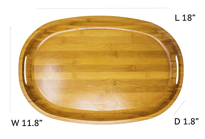 wood serving tray B046 Details