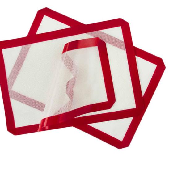 Non-Stick Siliconen Bakken Mat Glasvezel Set & Hoge Temperatuur Weerstand Gebak Mat