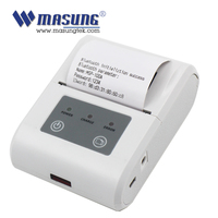 Handheld thermal 2 inch android driver pos receipt bluetooth printer with battery