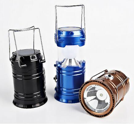 2017 folding 6 led solar camping lanterns led telescopic camping lights led solar camping lamp led solar tent