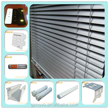 Novo best price window blinds component roller blinds for Cost of motorized blinds