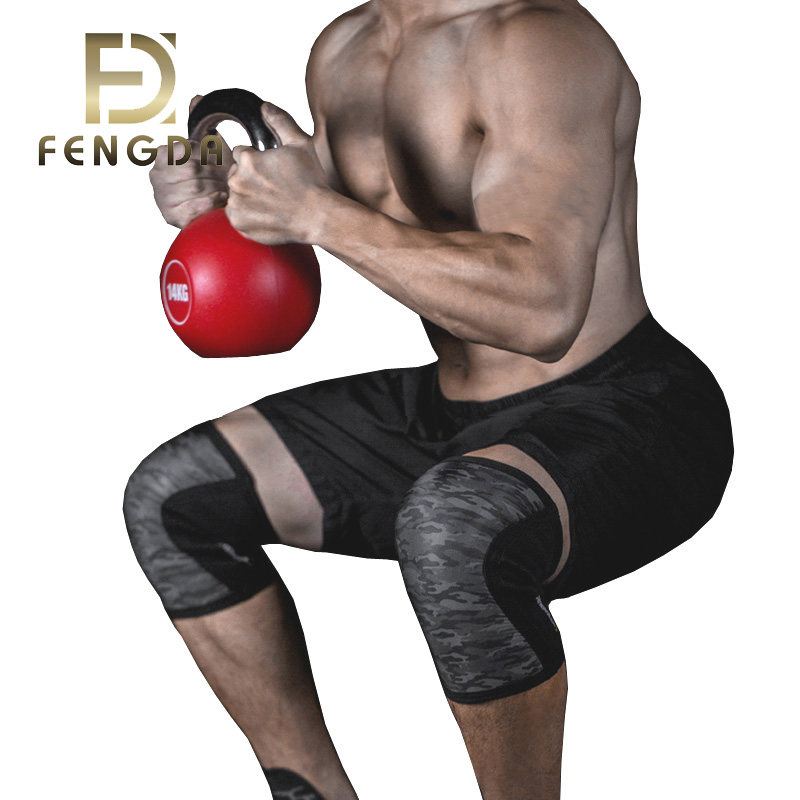 High quality good price knee brace custom logo neoprene knee brace sleeve, Customized