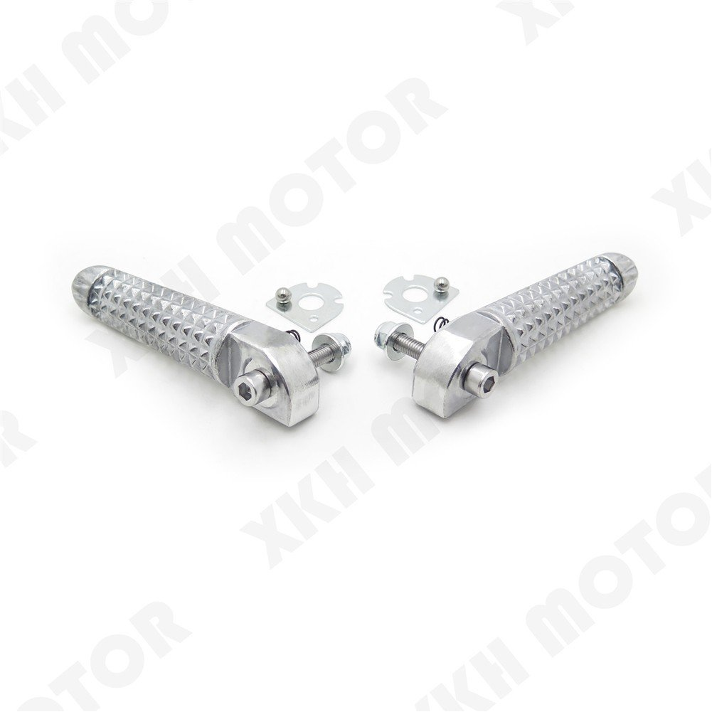 XKH Group Motorcycle Motor Rear Foot Pegs Footrest Fit For Yamaha Yzf-R1 Yzf-R6 Yzf R6 R1 1999-2011 new