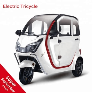 New cars electric tricycle with eec 60v 1500w electric tricycle made in china