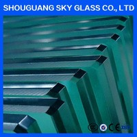 China factory! 8mm 10mm 12mm bronze tempered glass door for building