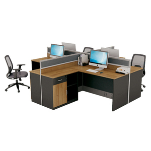 office desks and workstations 4 stations