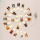 New Product 20 LED Fairy Copper Wire Lights Inside Clear Clips LED Photo Clip String Lights