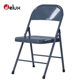 sillas plegables de metal