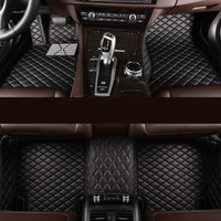 5D Non Skid Design and Special Cars Size leather car floor mats