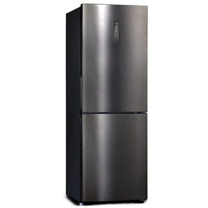 Double door free standing refrigerator and freezer fridge