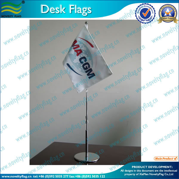 Quality stainless metal table flag stand (*NF09M04008)
